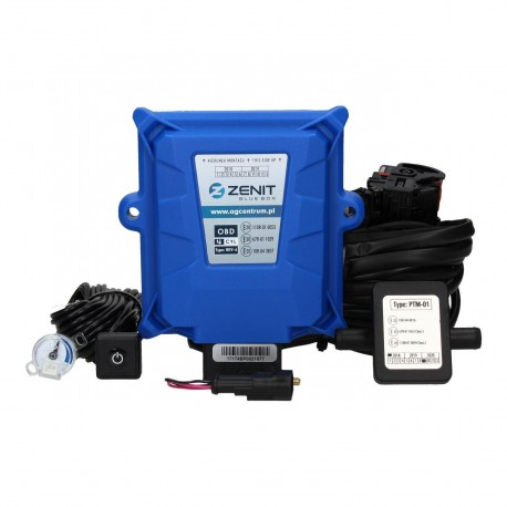 (3) KIT 3 CYL ZENIT BLUE BOX OBD COMPLET