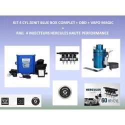 (6) KIT 4 CYL ZENIT BLUE BOX MAGIC OBD COMPLET