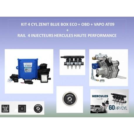 (2) KIT 4 CYL ZENIT BLUE BOX OBD COMPLET