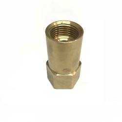 RACCORD ADAPTATEUR BOUTEILLE RECHARGEABLE GAZ NOIRE 6195-C53