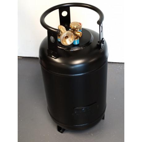(1i) BOUTEILLE GAZ 4 TROUS /30L RECHARGEABLE +COUPELLE FRANCE 4BO8029