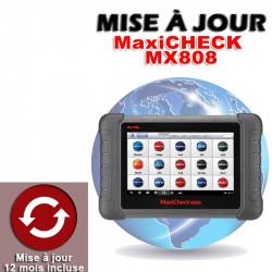 (7b) MISE A JOUR MX808 TS (1AN)