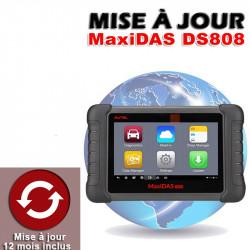 (7d) MISE A JOUR DS808TS (1AN)