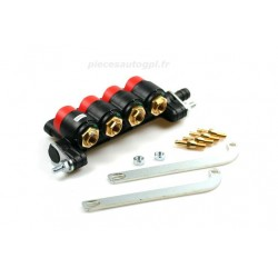 Valtek rail 4 cylindres injecteur orange standard 3 ohm type 34