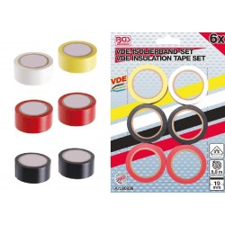 ADHESIVE TAPES, INSULATING FOR ELECTRICITY 6 PIECES