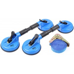 SET OF 2 PAIRS OF SUCTION CUPS WITH STRAP