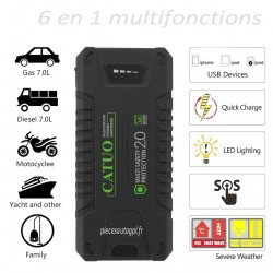 BOOSTER 12V CATUO MULTI FUNCTIONS