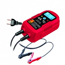 BATTERY CHARGER LCD ELECTRONIC 4 AMP 6-12 VOLT MICROPROCESSORS